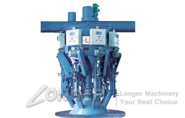 cement roto packer machine