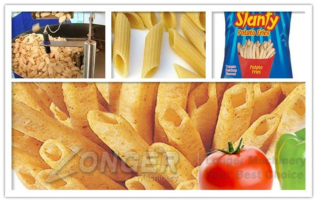 slanty chips packing machine