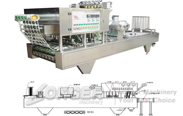 Pudding Cup Filling Machine