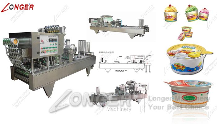 cup ice cream filling machine