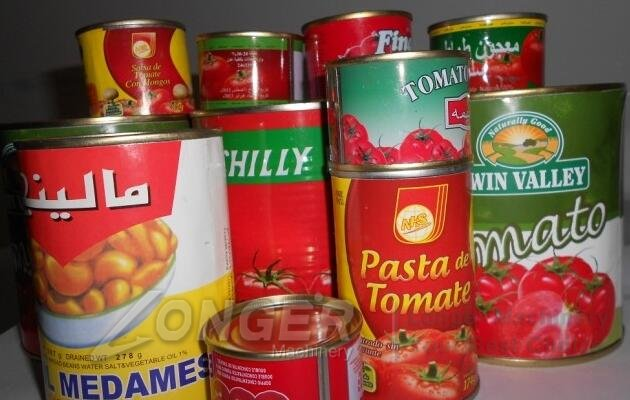 can packing for tomato sauce