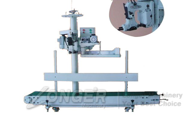 automatic bag-sewing machine