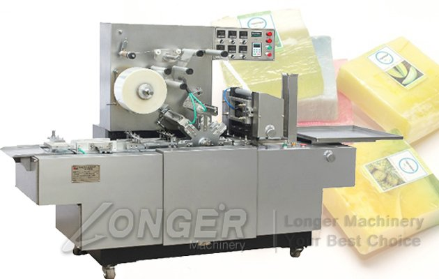 automatic soap wrapping machine