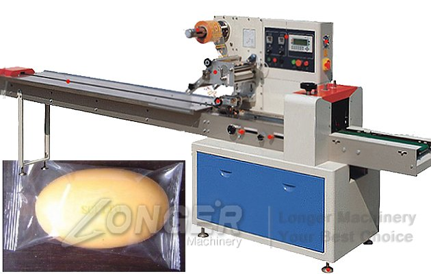 automatic manual soap wrappin machine