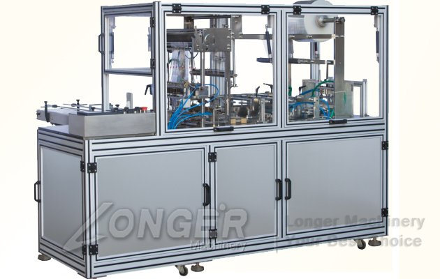 Cellophane packing machine for gift