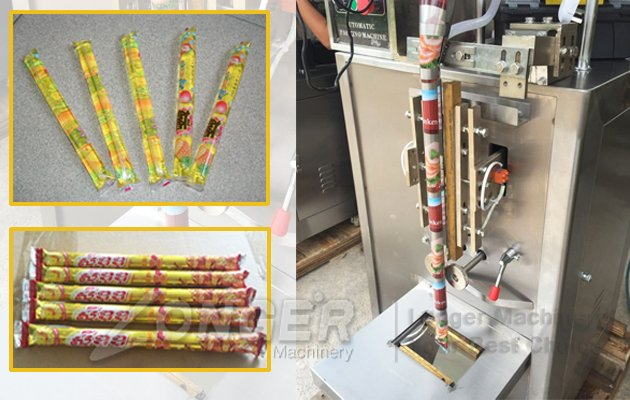 ice lolly packaging bag equipment
