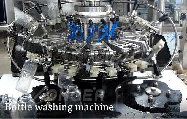water liquid bottles filling machine