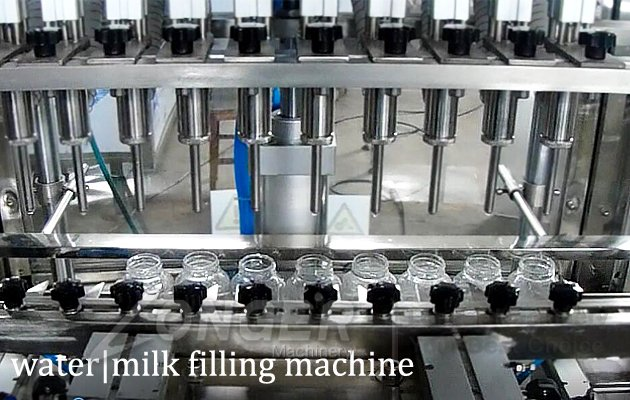automatic liquid bottle filling and sealing machine