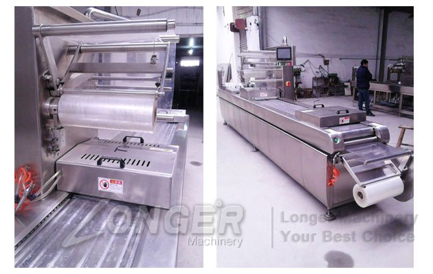 stretch film vacuum packing machine