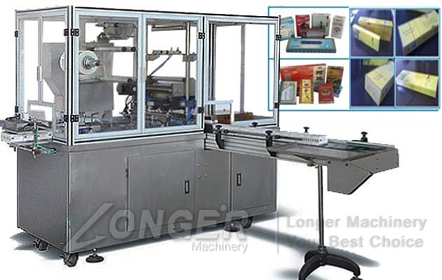 sparent film 3D packaging machine
