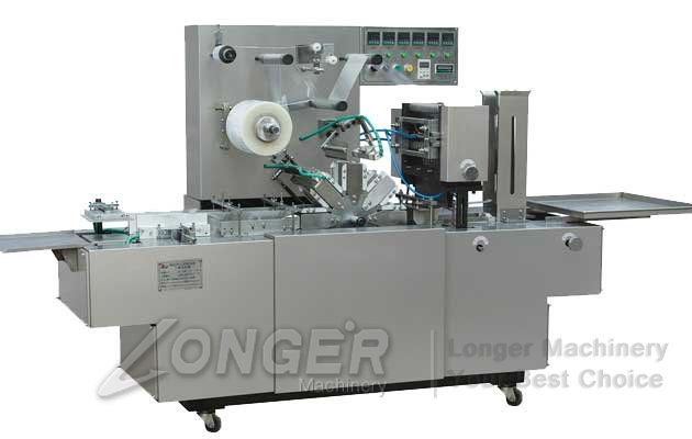 automatic 3d box film packing machine