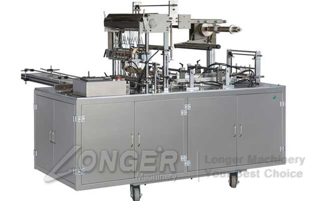 tea box film packaging machine