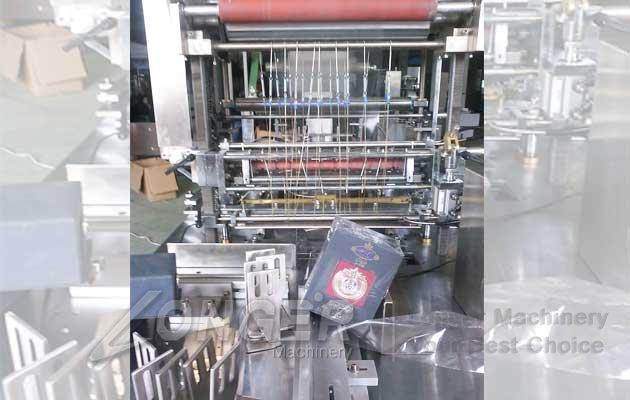 tea boxs packaging machine