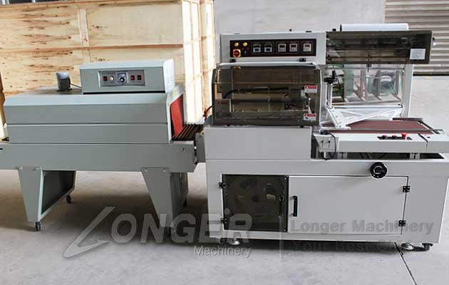china L type shrink wrap machine
