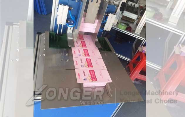 carton box side sealing machinery