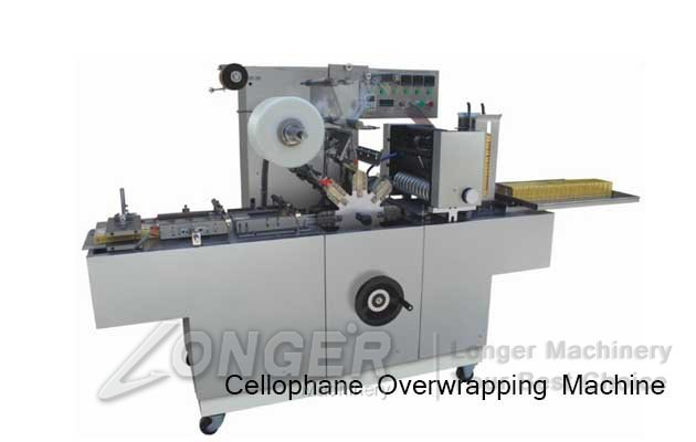 highspeed cellophane overwrapping machine