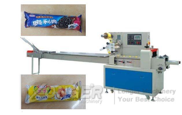 machine for packaging cookies