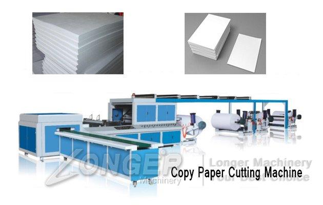 copy paper cutting machine