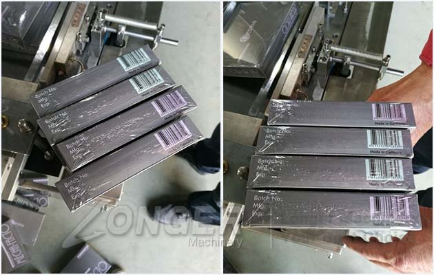 automatic overwrapping equipment