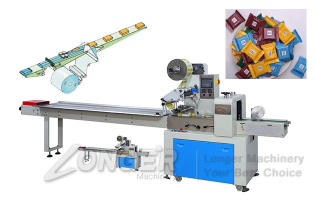 automatic mooncakes packing sealing machine