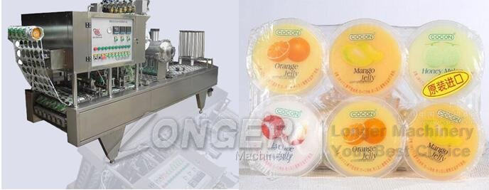 jelly cups filling machine