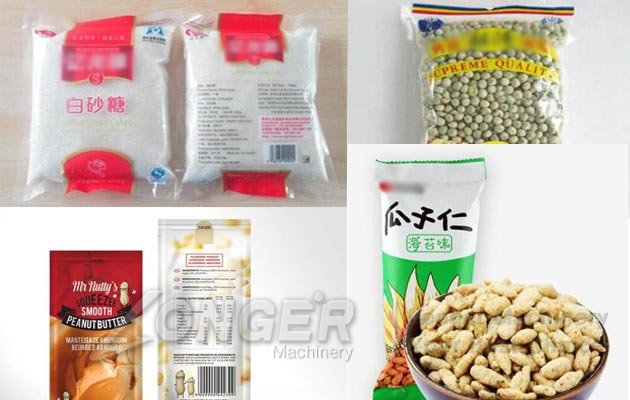 snacks chips packing machine