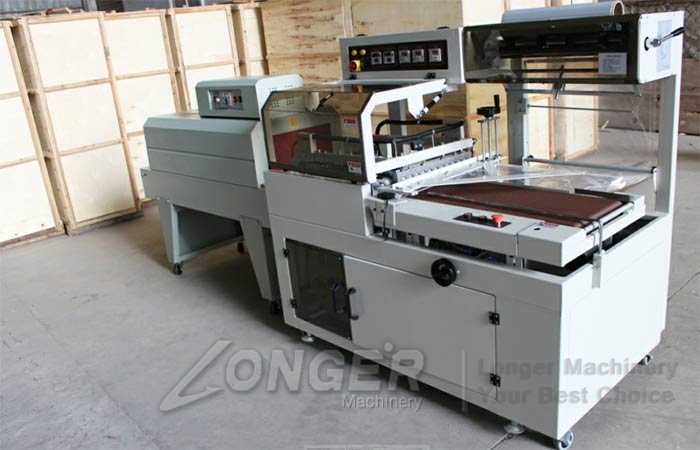 sport shoes shrink wrapping machine