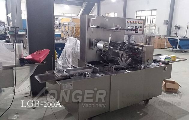 cigarette overwrapping machine