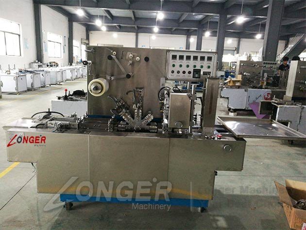 cosmetic box wrapping machine