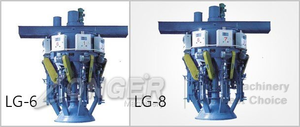 automatic rotary cement packing machine