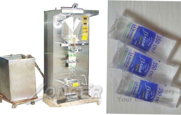 liquid pouch packaging amchine