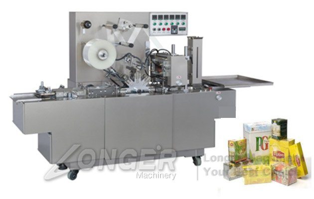 overwrapping cellophane machine