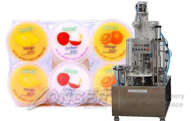 ice cream cups filling machine