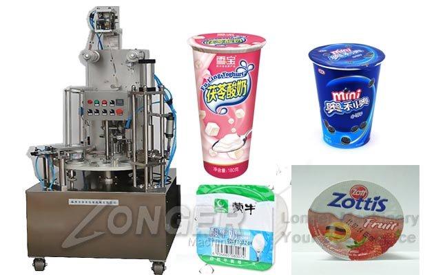 liquid cups filling sealing machine