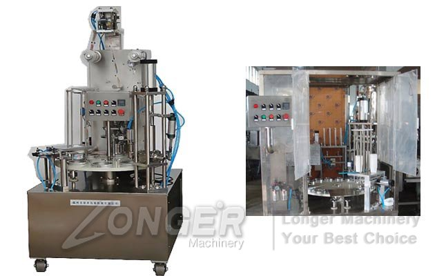 rotary jelly cups filling machine