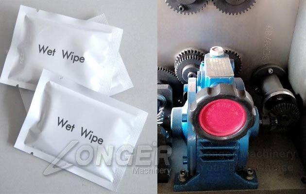 single sachet wet wipes machine
