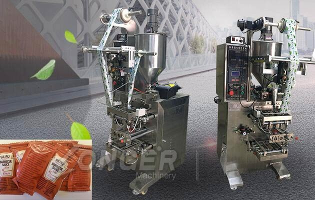 sauce sachet filling machine