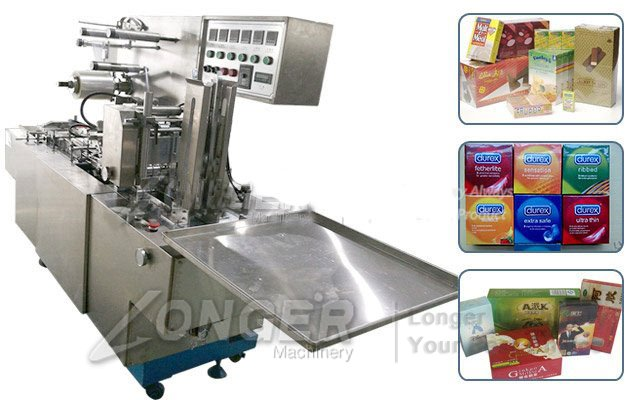 box cellophane packing machine