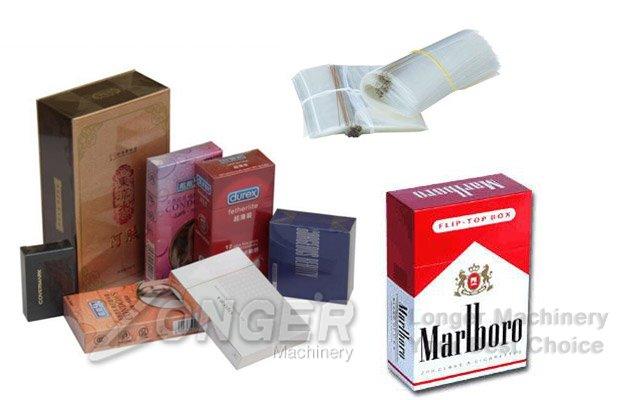 manual wrapping perfume box machine