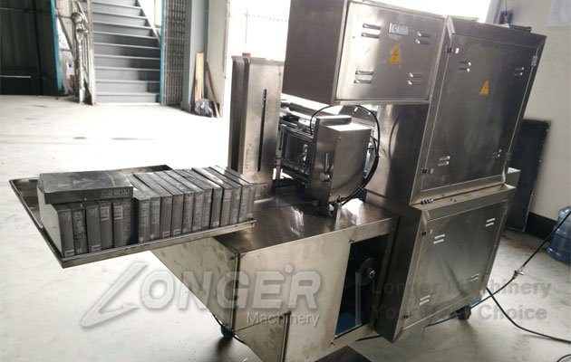 box cellophane packaging machine