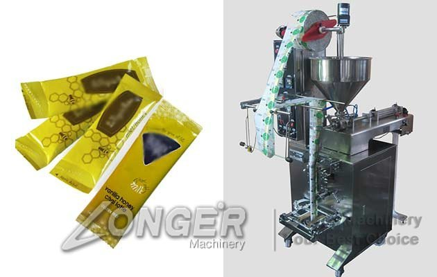 honey sachet packing machine