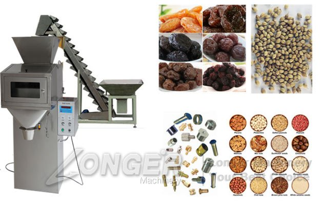 nuts snack granules packing machine