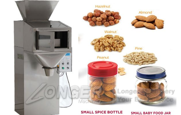 nuts bottle filling machine