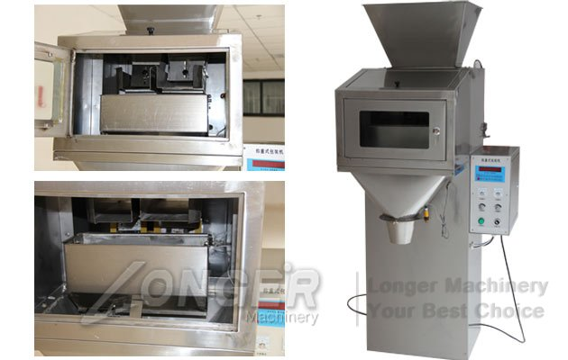 granules powder filling machine