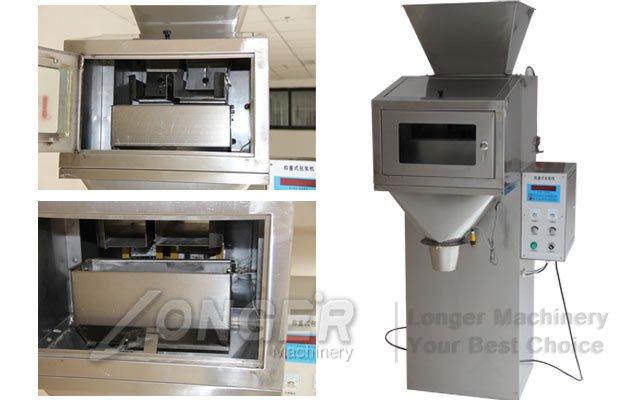 granules powder filling machine