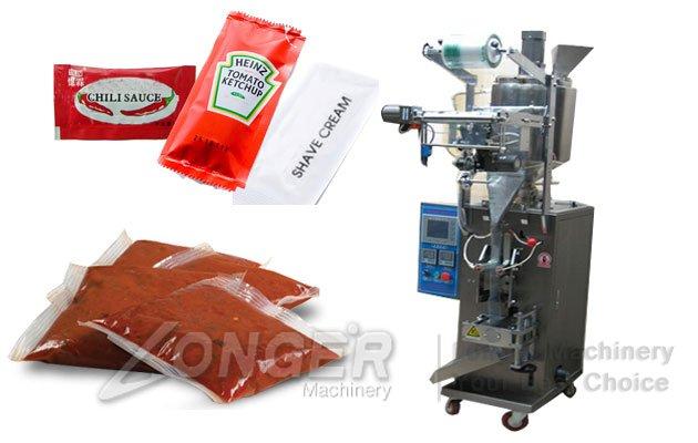 chili sauce packaging machine