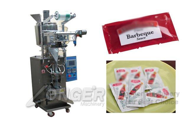 bbq tomato sauce bagging machine