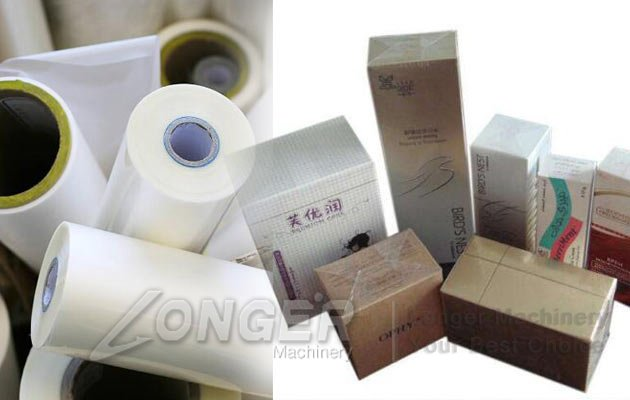 cellophane cigarette box packing machine