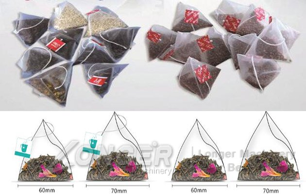 automatic tea bags machine
