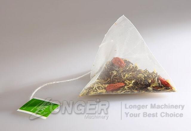 pyramid tea packaging machine